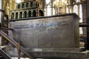 Edward I Tomb at Westminster Abbey