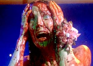 Carrie from the movie with Sissy Spacek